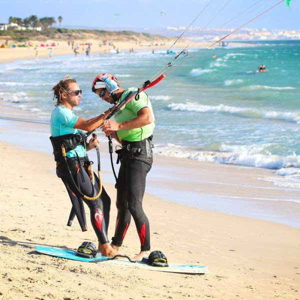 Private Kitesurf course in valdevaqueros beach tarifa spain