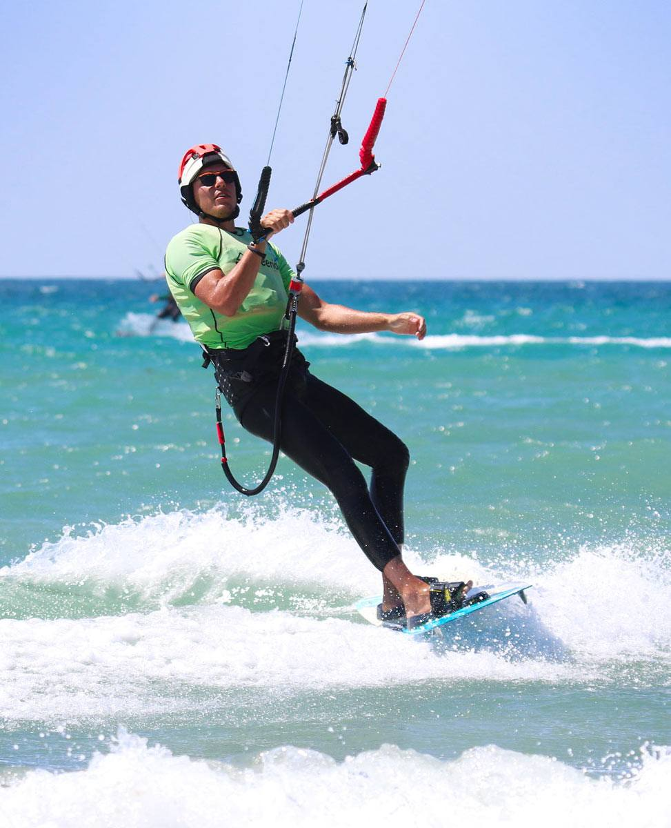 Naish Kiteboarding equipment rental with Freeride Tarifa in Spain