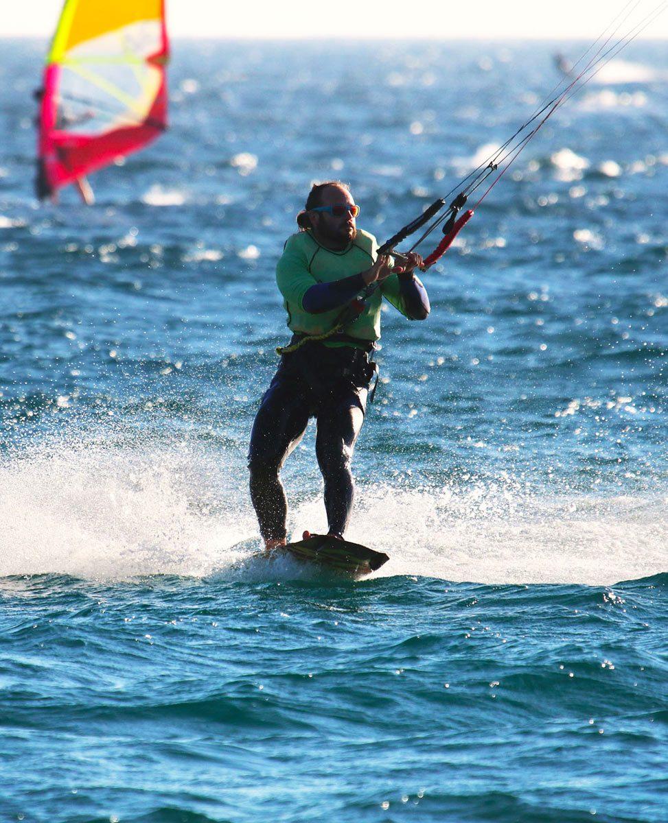 Kite equipment rental with Naish kiteboarding in Tarifa