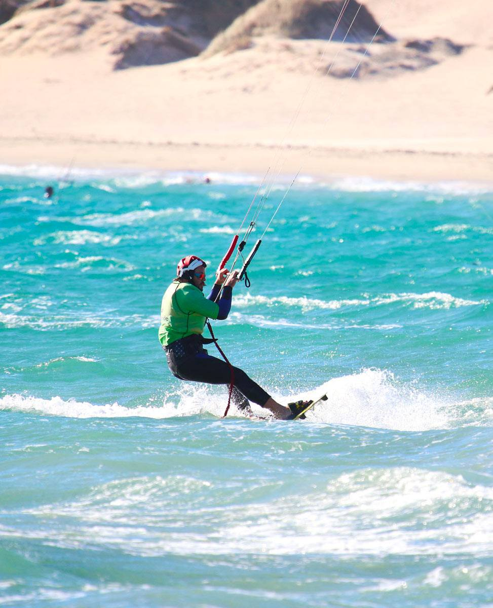 Kite and board Naish kiteboarding equipment to rent in Tarifa