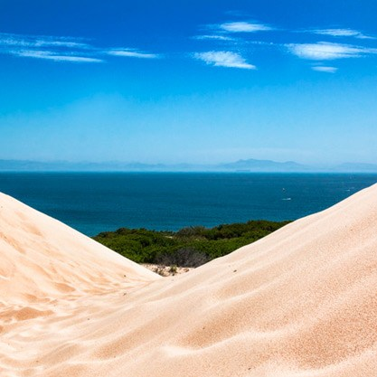 Amazing view from Punta Paloma Tarifa, Spain