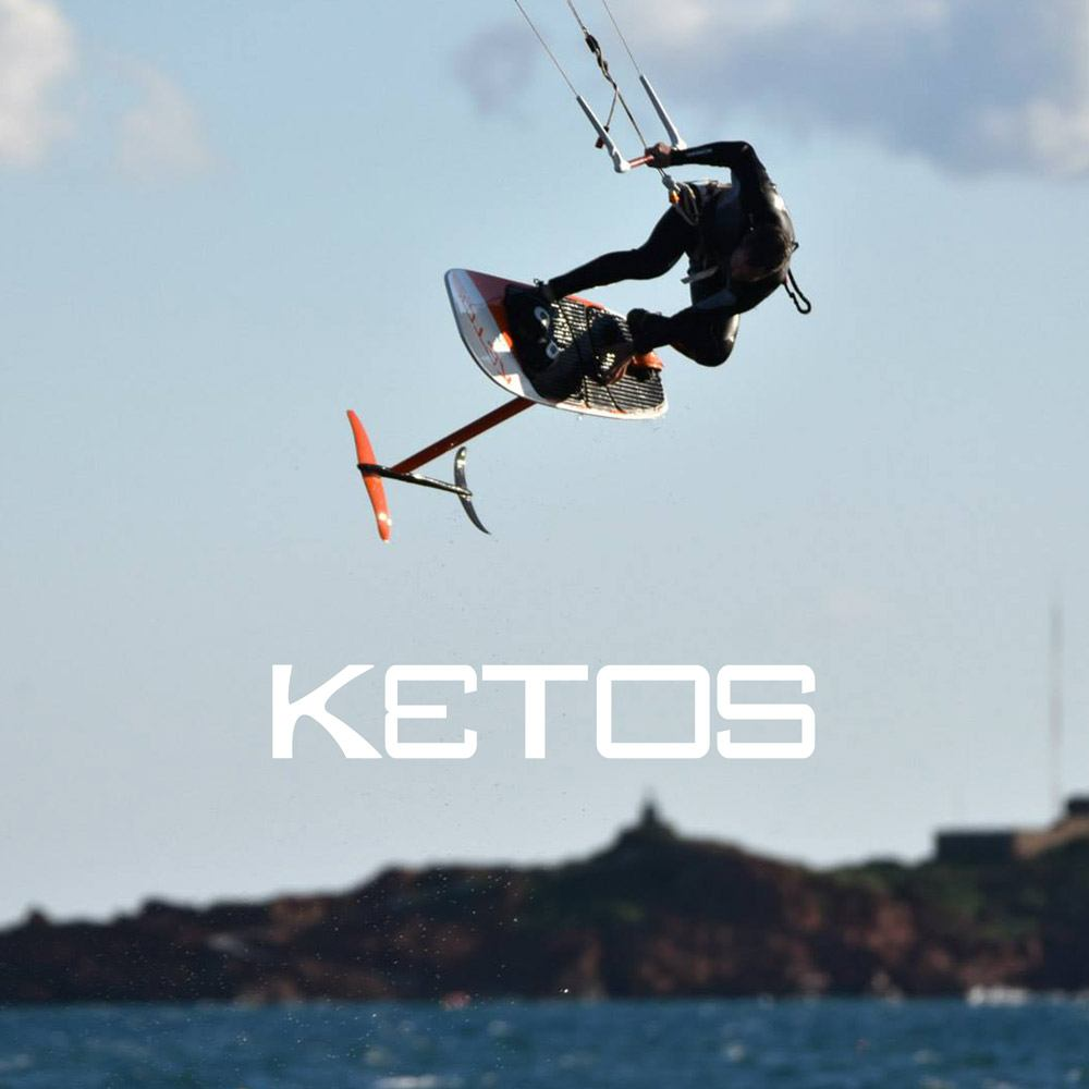 Ketos foil, partner Freeride Tarifa, Kite school in Spain