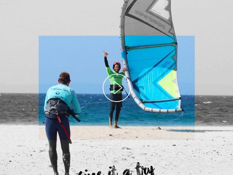 Vidéo de nos cours de kitesurf à Tarifa