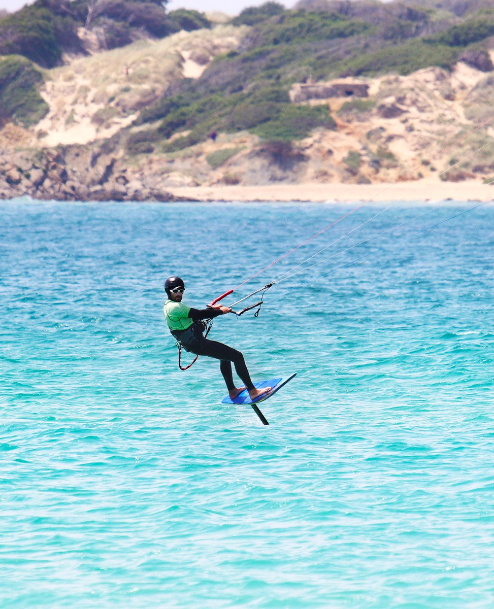 Carbon foil Ketos, kitefoiling lessons or rental in Tarifa, spain