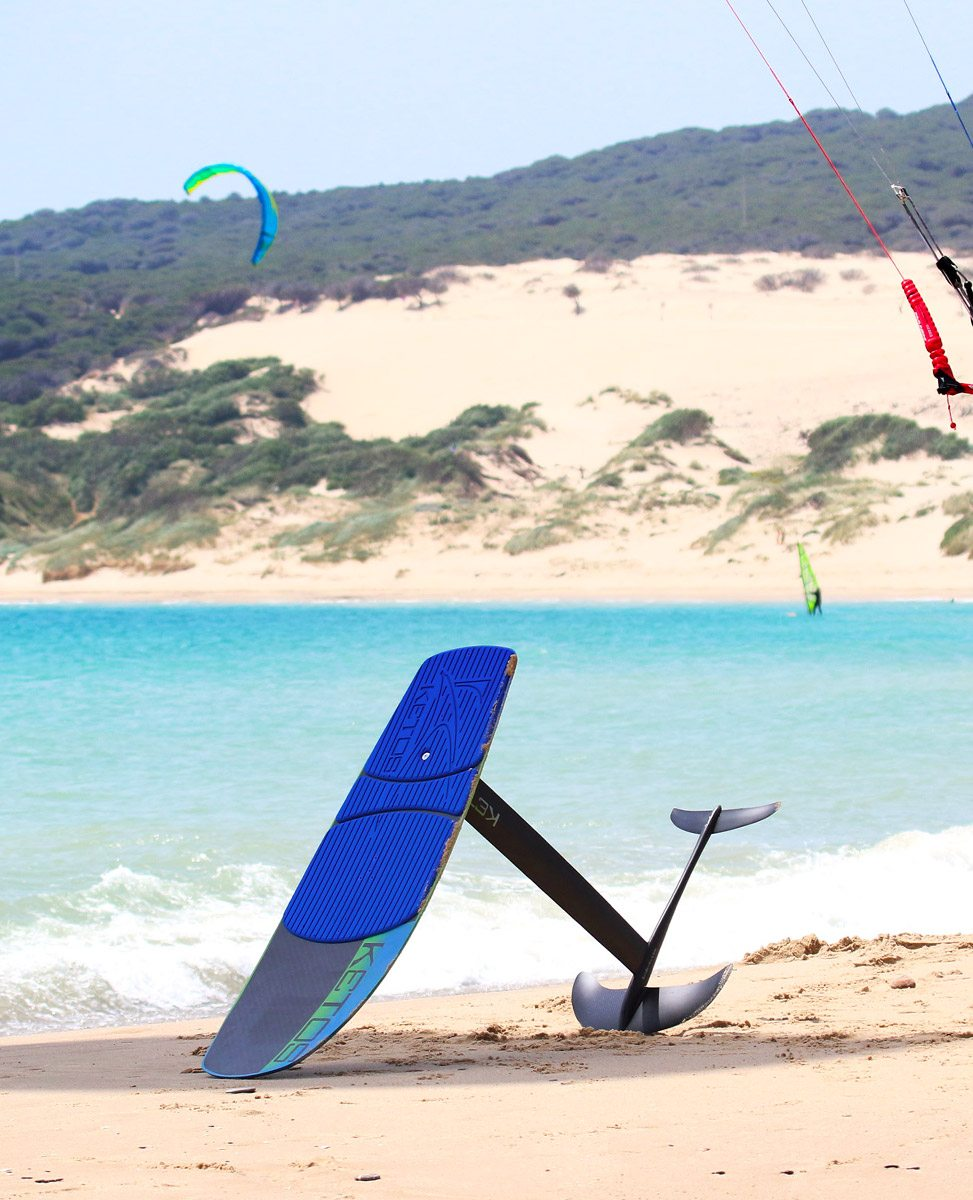 Carbon foil Ketos, kitefoiling lessons or rental