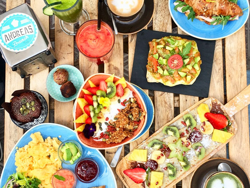 Andrea's Brunch, café in Tarifa, brunch & breakfast, Andalousia