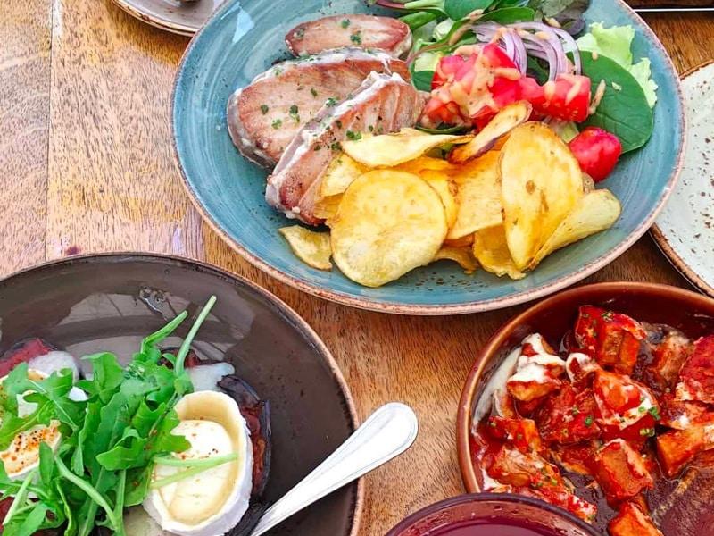 Bar el Francès, Tapas Bar in Tarifa, meat, fish, Tapas, Fresh Tuna