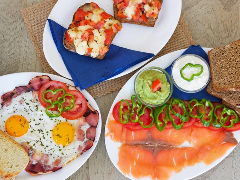 Café Azul Tarifa in Andalousia, kitesurfing, brunch, eat healthy