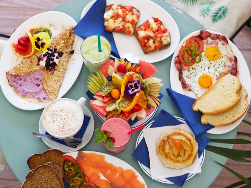 Café Azul Tarifa in Andalousia, kitesurfing, brunch, eat healthy