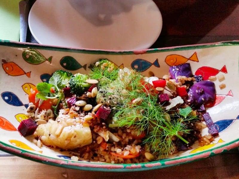 Eco Center, Vegetarian & Veggie Restaurant in Tarifa