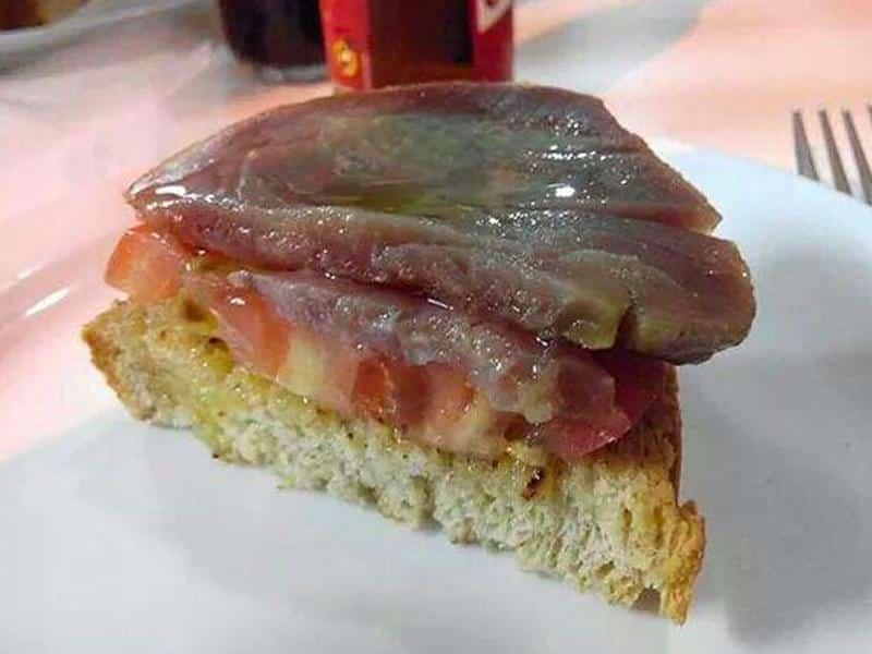 El Meson Picoteo Tarifa, Restaurants-Andalousia-Fresh Tuna