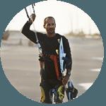 moniteur de kitesurf sur Tarifa, IKO/FAV, cours de kitesurf