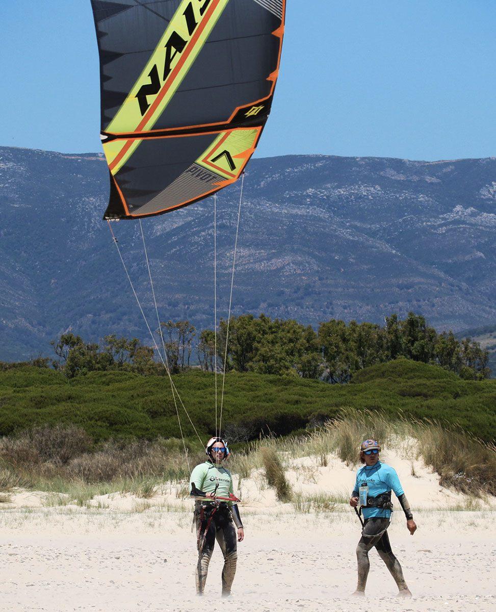 kite spot d'europe, tarifa, apprendre le kitesurf, ecole de kite