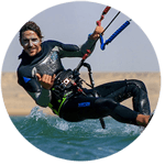 Kite instructor, Yoga teacher and nutritionist in tarifa with Freeride Tarifa Kite School