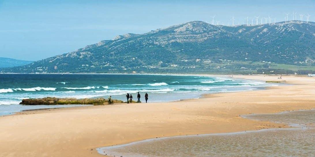 Les plus belles plage de Tarifa où faire du kitesurf, surf et windsurf dans la region de cadix