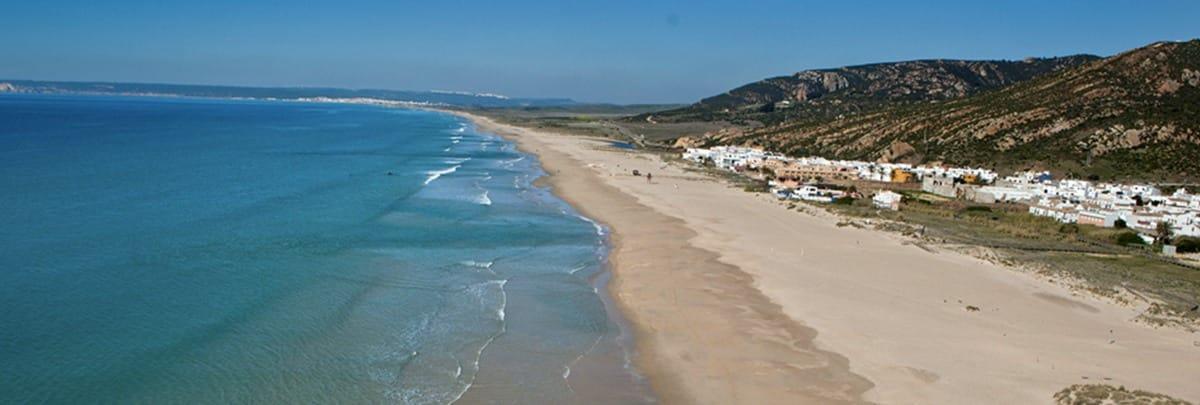 Plage de Zahara de Los Atunes en Andalousie