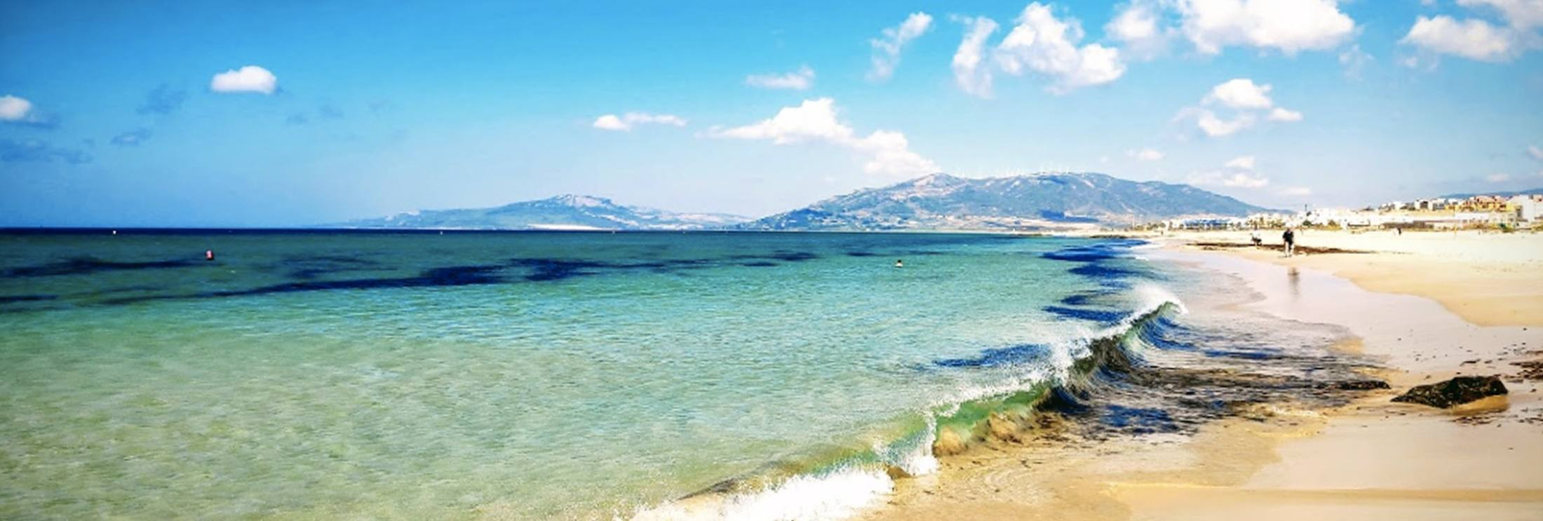 Plage de Balneario ou Playa Chica à Tarifa en Espagne