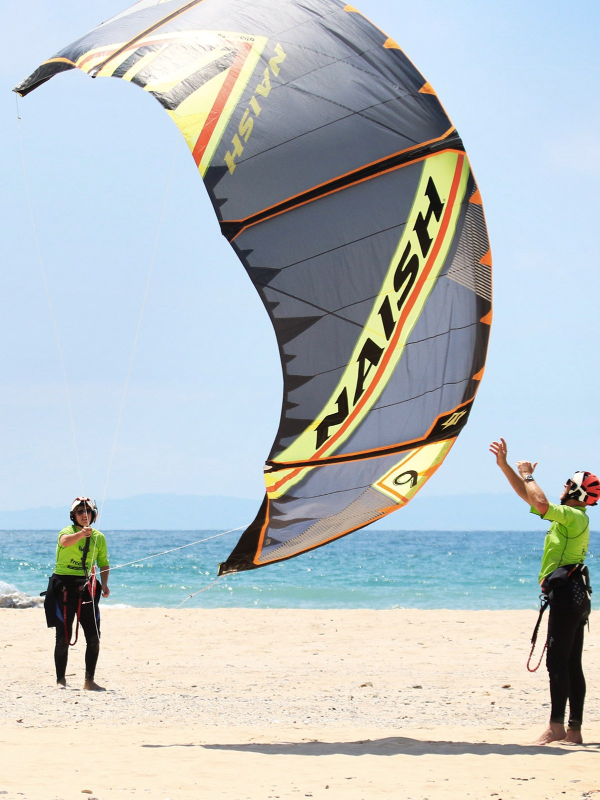 Tarifa, los lances norte, cours de kitesurf