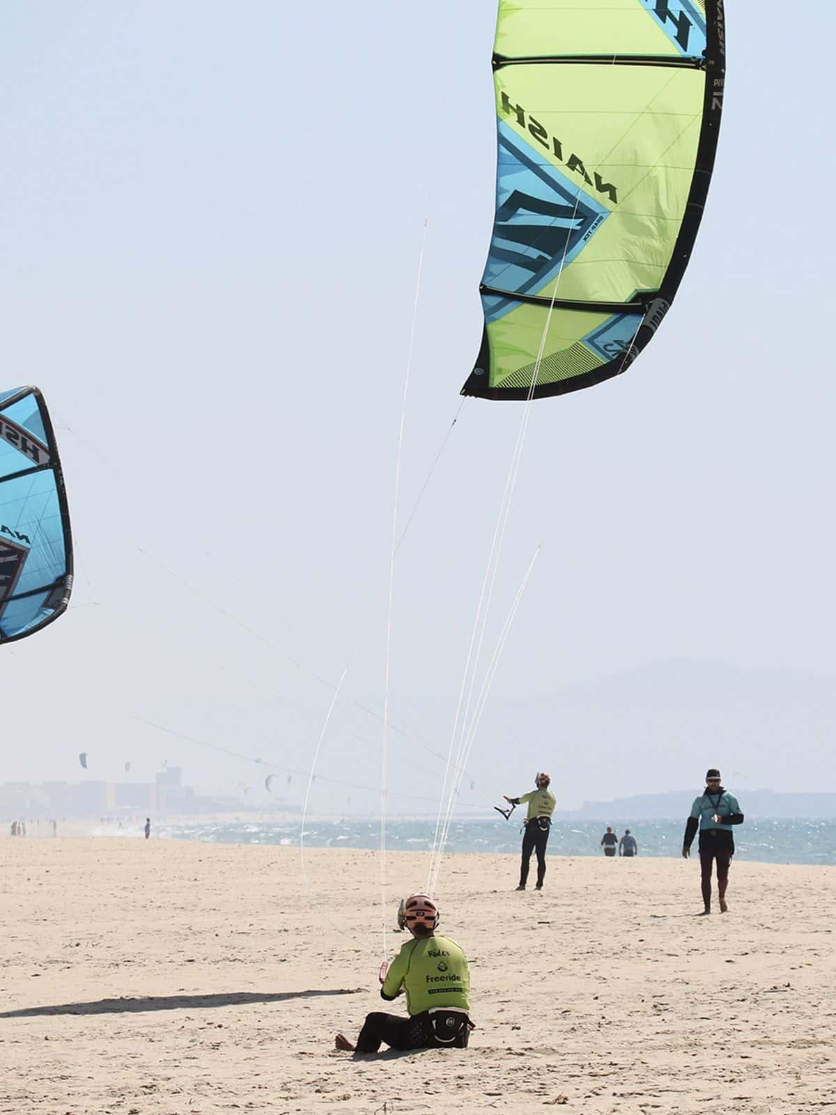 Cours semi-privé, un kite chacun
