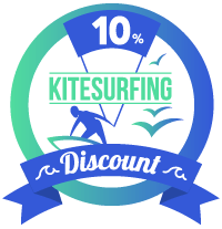 10% discount kitesurf lessons Tarifa
