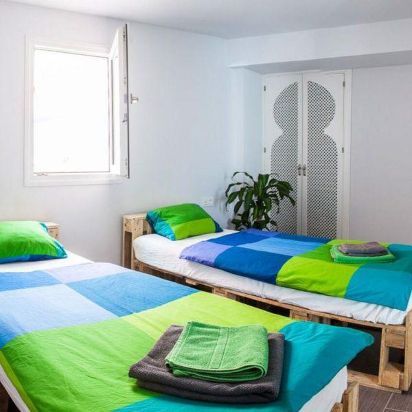 Double room with private bathroom Hostel Tarifa