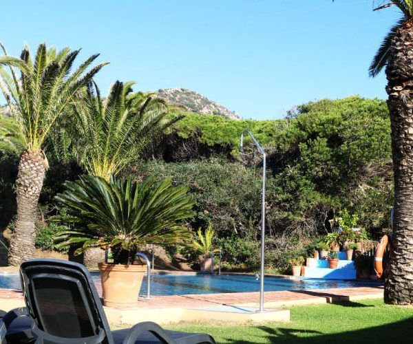 outdoor pool Yoga and gym Hurricane hotel Tarifa