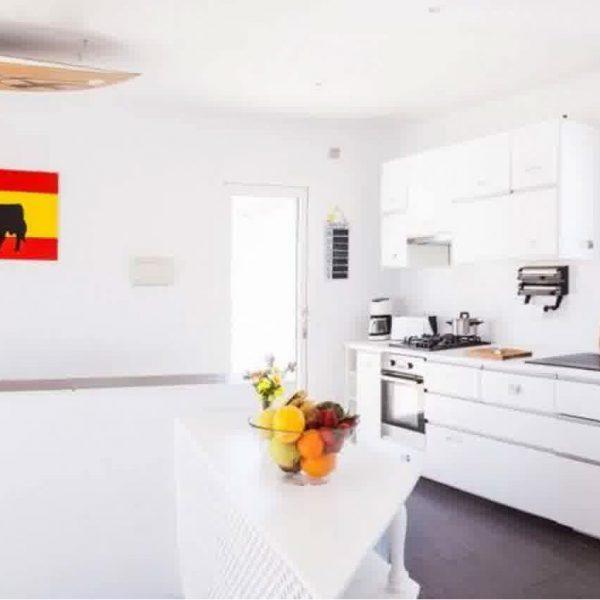 Shared kitchen hostel tarifa surfers residence