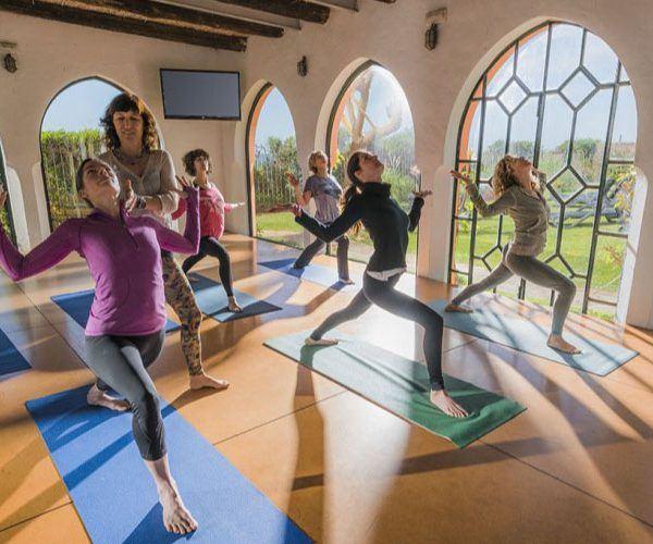 Yoga class Hurricane hotel Tarifa