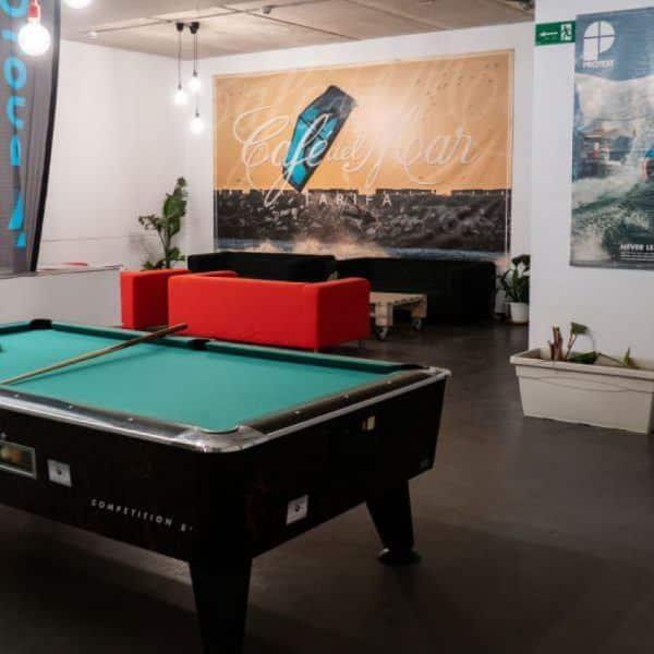 Games room South Hostel Tarifa