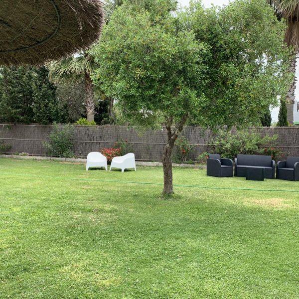Private garden Hotel Torre Tarifa