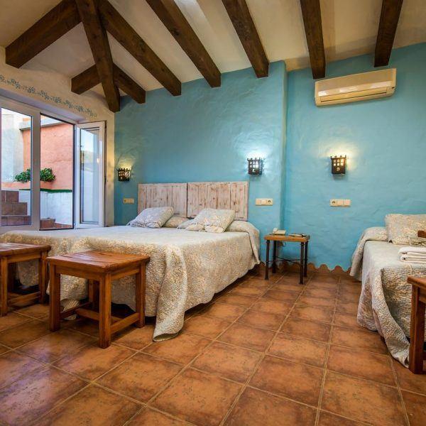 triple room Hotel Torre Tarifa