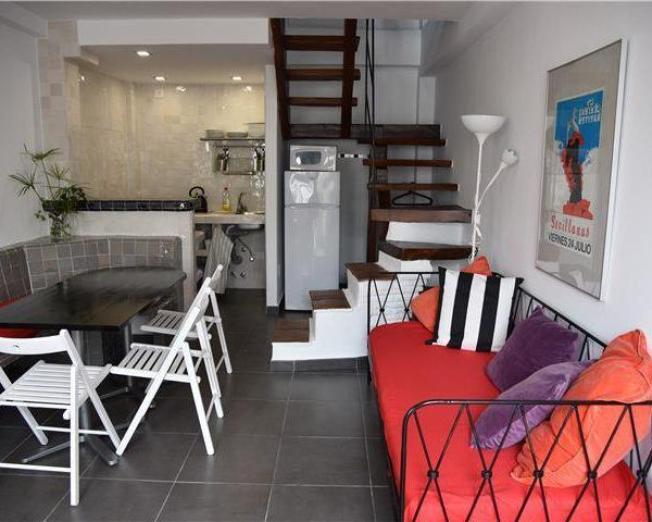 Living room area Triplex apartment Tarifa