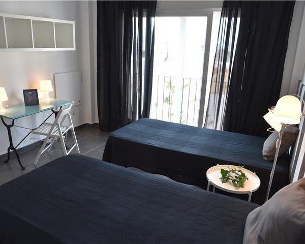 Twin room with balcony in Tarifa