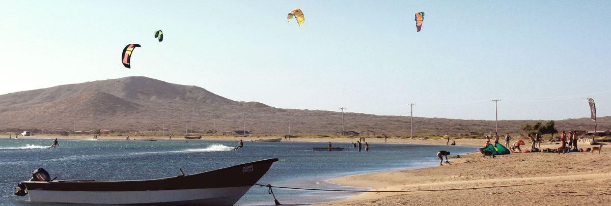 Cabo de la Vela Colombia kitesurfing
