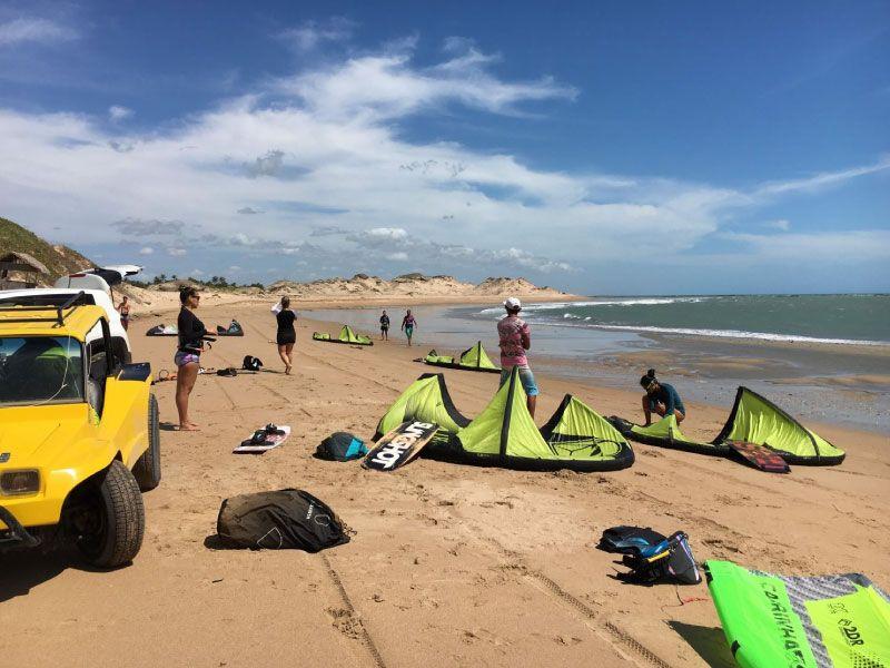 Icaraizinho de Amontada kitesurfing