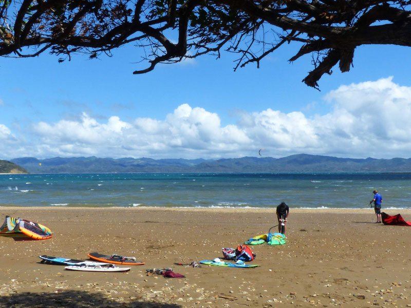 Playa Copal best destination to kitesurf in winter