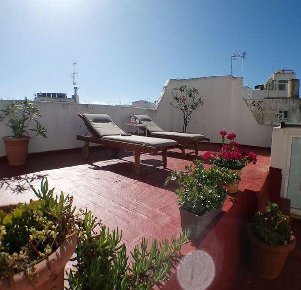 Rooftop old town Tarifa