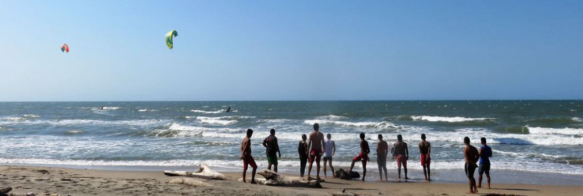 Salinas del Rey Colombia kitesurfing beach