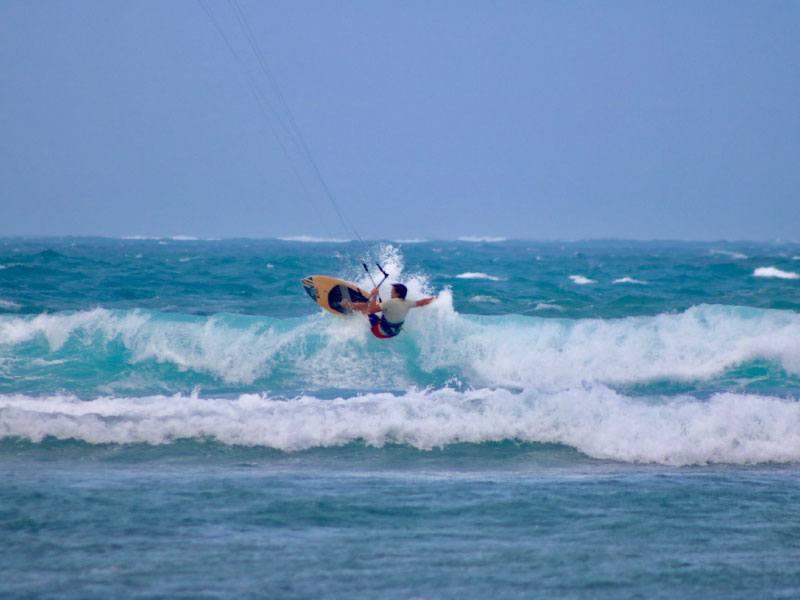 Waves spot in Siargao