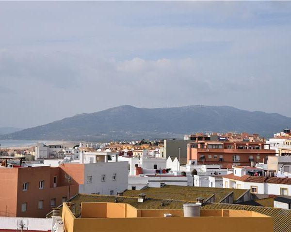Rooftop sea view in a rental apartment Tarifa