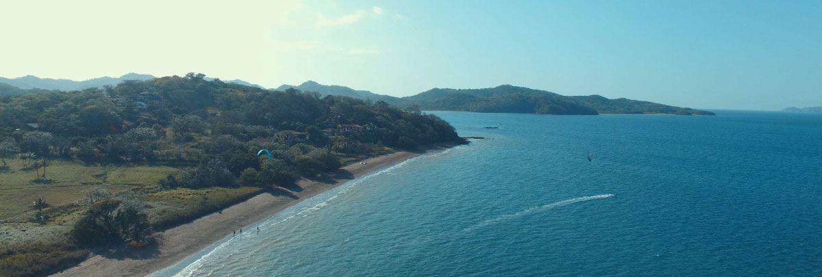 Costa Rica kitesurfing spot