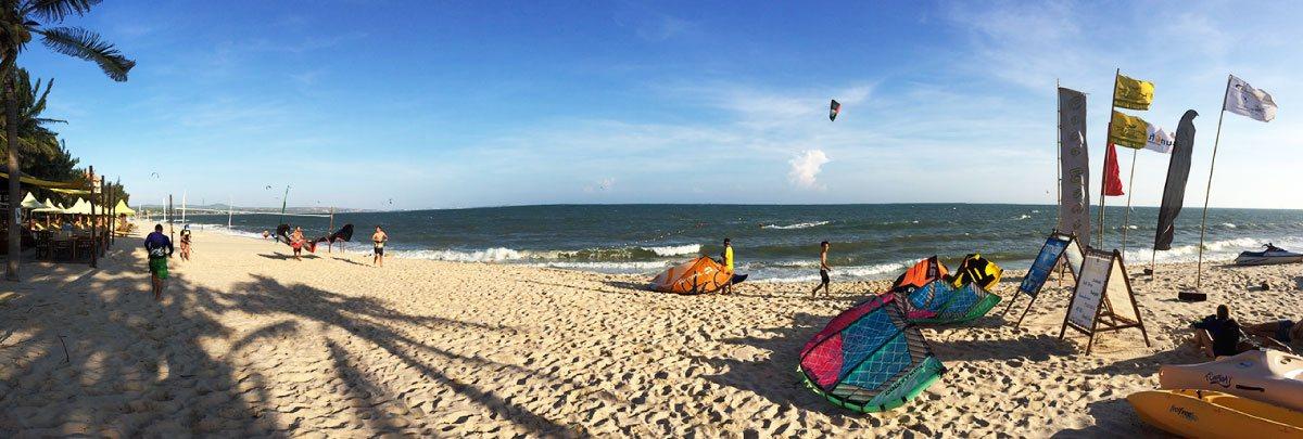 Mui Ne Bay kitesurf spot in vietnam