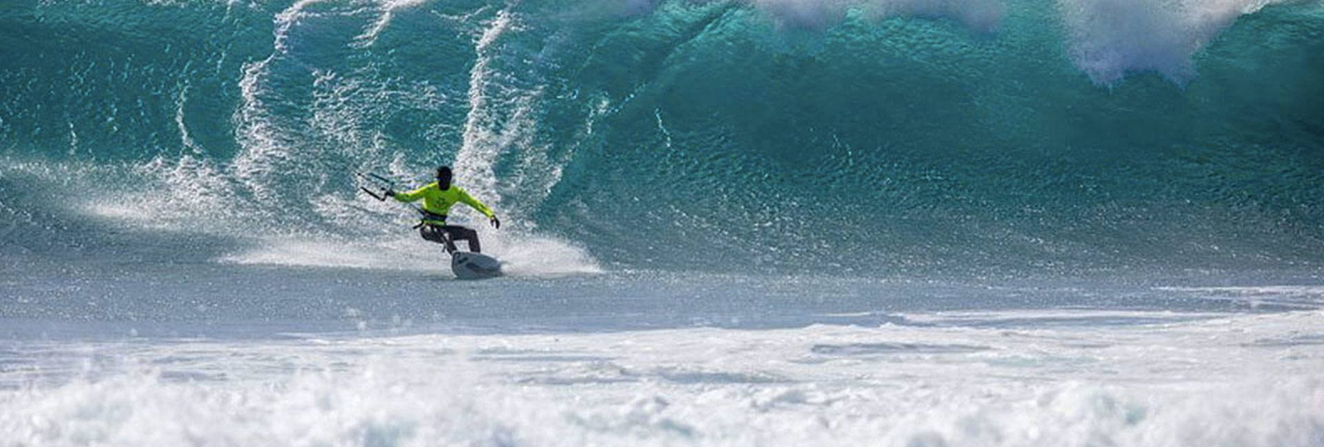 Waves spot for strapless in Ponta Preta at Capo verde