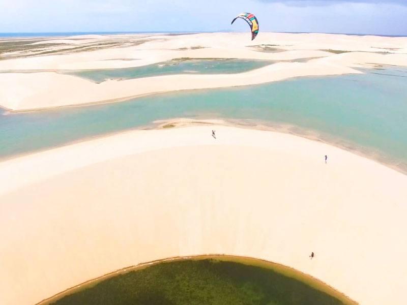 Tatajuba Lagoon for kitesurfing