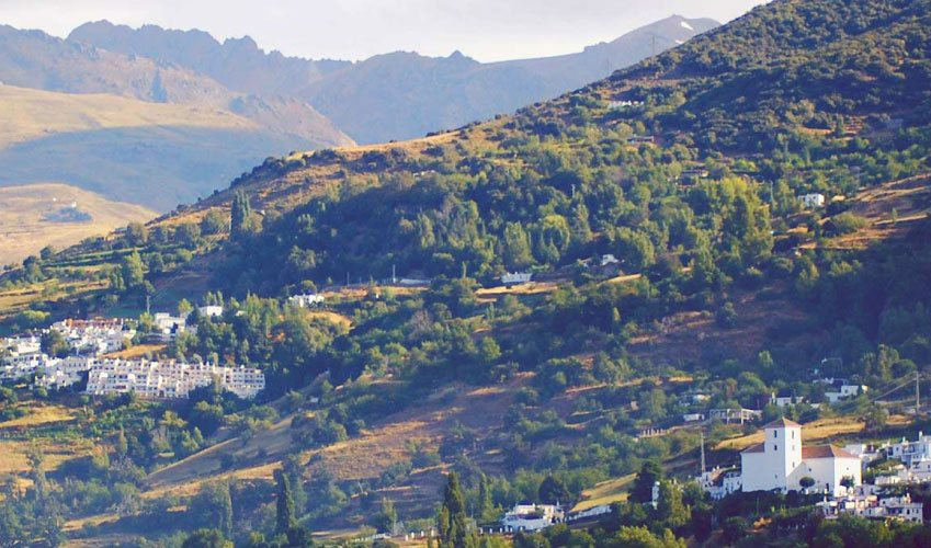Bubion and Capileira village in the Alpujarras Spain