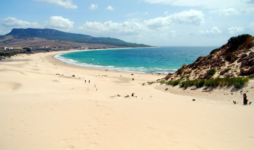 Bolonia beach in Andalusia