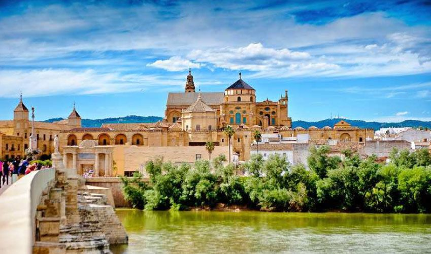 City of Cordoba in Andalusia Spain