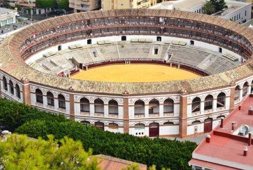 Plaza del Toro in Ronda Spain