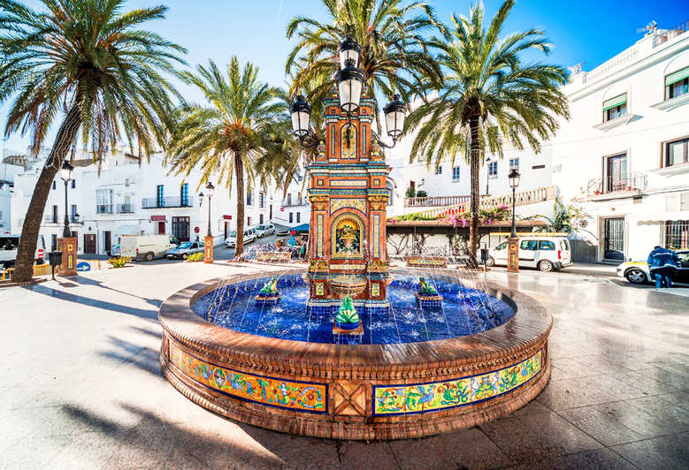 The Frog Fountain of Vejer De La Frontera Spain