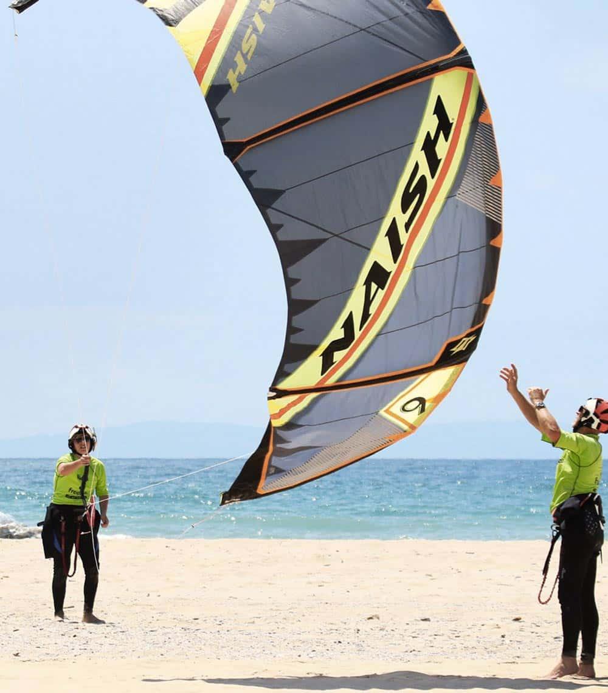 kitesurfing group lessons Tarifa